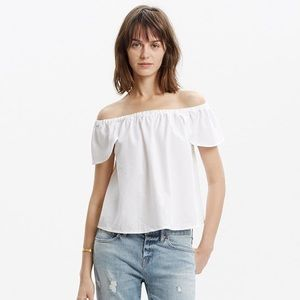 Madewell Off the Shoulder Top
